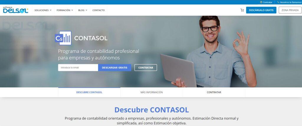 ContaSol es un sistema de Contabilidad de Software del Sol muy popular en España